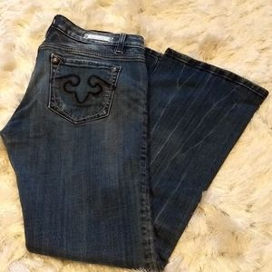 Rerock for Express Bootcut Jeans 6S